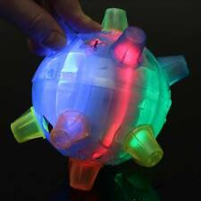 Jumping Joggle Bopper Flashing Light Up Bouncing Sound Kid Vibrating Toy Ball !