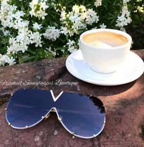 """GREY SHIELD SUNGLASSES Ombre """"Get The Look Of Luxury For Less"""" CASE & CLOTH INC"""