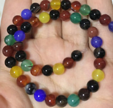 """6mm Natural Coloured beads Gemstones Round  Loose Bead 15""""'AAA"""
