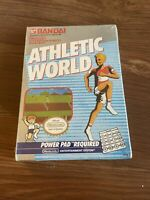 BANDAI Athletic World Nintendo Vintage NES SEALED Game Cartridge RARE NEW H-Seam