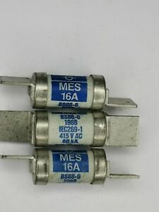 MES16 LAWSON FUSE LINK16AMP 415VAC