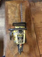 """Vintage McCulloch Pro Mac 850 Chainsaw With a20"""" Bar And Chain Used Condition"""