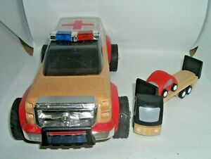 Calello Automoblox Rescue and Plan City Wooden cars - Sell for Charity