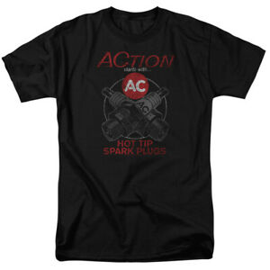 AC Delco Cross Plugs Licensed Adult T-Shirt