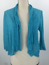 Ruby Rd. Women's Blue Drape shawl Petite Large