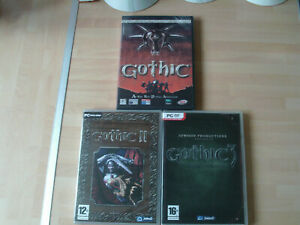 gothic1,2&3  new&sealed