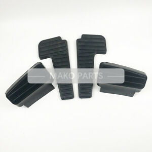 Rubber Foot Mat for Pedal Fits Doosan Daewoo DH150 220 225 300-7-9