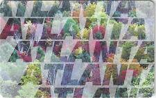 TK 116 Telefonkarte/Phonecard 10u Complimentary Autumn Trees Overprinted Atlanta
