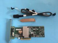 LSI MegaRAID SAS/SATA 9260-4i 4-Port 6Gb/s PCI-E RAID CARD+8087 to 4*SATA Cable