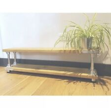 Bespoke, Upcycled, Rustic, Industrial Style Scaffold Board TV Stand