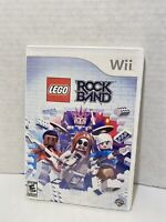 LEGO Rock Band - Nintendo Wii - Tested and Complete - Free Shipping