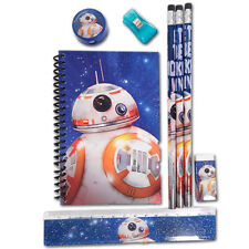 Disney Star Wars The Force Awakens BB-8 School Stationery Gift Set for Kids