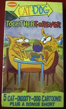 VHS Cat Dog Together Forever 5 cartoons Nickelodeon NEW SEALED
