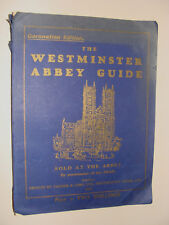Coronation Edition King George VI Westminster Abbey Guide 1937