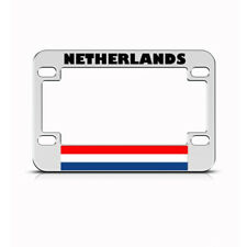 Metal Bike License Plate Frame Netherlandss Style A Motorcycle Accessories
