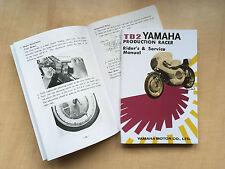 YAMAHA TD2 OWNERS BOOK REPRODUCTION 1969 TZ RACING CLASSIC YAMAHA