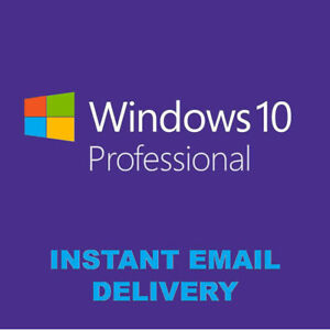 ✔️WINDOWS 10 PROFESSIONAL PRO KEY 3264 BIT GENUINE LIFETIME LICENSE CODE✔️