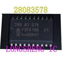 5PCS 28083578  280 83 578 Automobile computer board vulnerable chip NEW