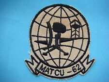VIETNAM WAR PATCH, USMC MARINE AIR TRAFFIC CONTROL UNIT 62