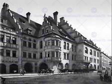 MUNICH HOFBRAUHAUS POSTCARD LATE 19TH CENTURY BW PHOTO PRINT POSTER 1407BWB