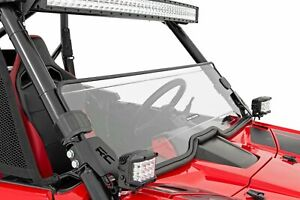 Rough Country For Honda Talon Scratch Resistant Half Windshield 2019-2020