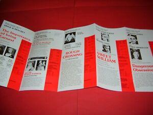 Nyree Dawn Porter Susan George Hinge & Bracket Rula Lenska 1987 UK Theatre Flyer