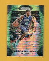 4031  2017-18 Panini Prizm Prizms Green Pulsar #238 Marvin Williams #01/25