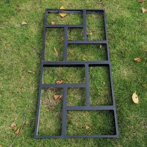 Stampo per pavimentazione in pietra passo-passo in cemento, giardino per prato e