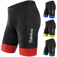 Didoo Mens Cycling Shorts Padded Bicycle Running Tight Lycra Compression Pants