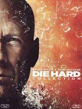 Die Hard Collection (4 Blu Ray + Disco Bonus) Cofanetto Bruce Willis