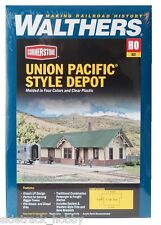 HO Scale Walthers Cornerstone 933-4057 UP Union Pacific Style Depot/Station Kit