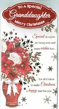 Granddaughter Christmas Card   'To A Special Granddaughter'