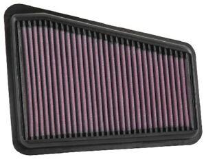 K&N Hi-Flow Performance Air Filter Fits Kia Stinger 2018 3.3L Turbo, R/H Side...