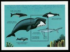 GAMBIA SEA FAUNA WHALES & DOLPHINS 1995 Mi.Bl.275 MNH SOUVENIR SHEET