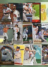 Nick Markakis (Baltimore Orioles/Atlanta Braves) 15 Lot w/Rookies