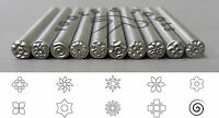 5 mm Various Floral Patterns Precision Design Metal Punch Stamps Individual/ Set