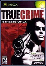 True Crime: Streets of LA (Microsoft Xbox, 2003)