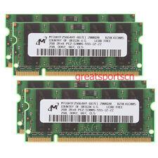 Micron 8GB 4x 2GB PC2-5300 DDR2-667MHz SODIMM Memory For Lenovo ThinkPad T61