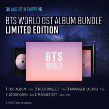 BTS WORLD OST LIMITED EDITION ALBUM / Poster / Sealed/Full Package/Tracking No
