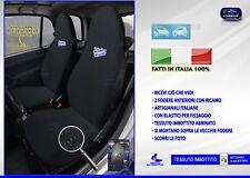 Fodere Smart 451 coprisedili per sedile auto blu fodera colori nero blu pois kit