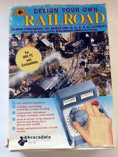 Abracadata Design Your Own Railroad Track Program IBM PC