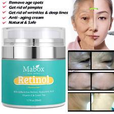2.5% Retinol Moisturizer Cream Wrinkles Anti-Aging Hyaluronic Acid Vitamin E