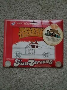 The Dukes of Hazzard Etch A Sketch Fun Screens new old stock sealed asis
