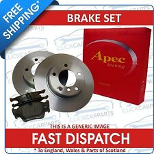 Ford Fiesta Mk6 Front Brake Discs + Pads 02-08 Vented