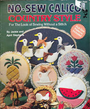Plaid No Sew Calico Country Style 14 Home Projects The Look of Sewing No Stitch