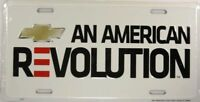 CHEVROLET LICENSE PLATE CHEVY AMERICAN REVOLUTION L571