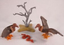 PLAYMOBIL VINTAGE 7127 VULTURES SNAKE TREE - COLLECTOR-COMPLETE-EXCELLENT