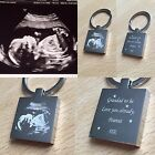 PERSONALISED Daddy / Grandad / Nanny  To Be Square Keyring -   Gift