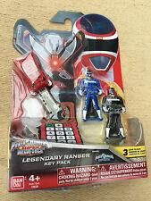 Power Rangers megaforce key set for legendary morpher in space red blue black