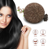 Soap Hair Darkening Shampoo Bar - Natural Organic Conditioner and Repair A+++ EN